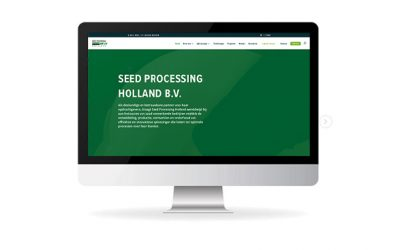 Seed Processing Holland B.V. launches an entirely new website!