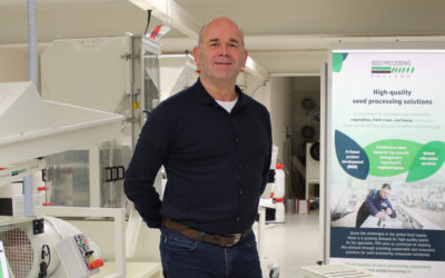 25 years at Seed Processing Holland From intern to CEO