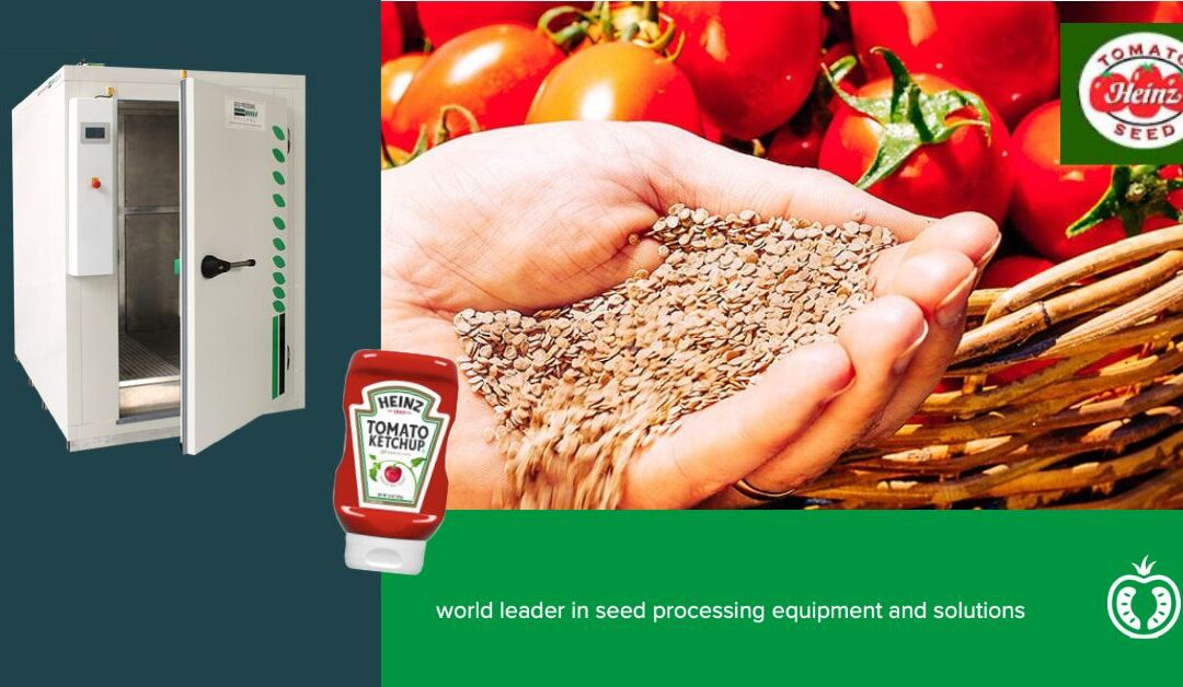 Ketch-up, its all about tomatoes at SPH and the Heizz seed division!