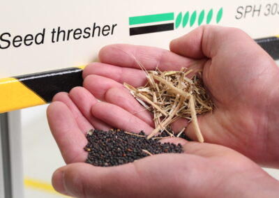Bayers crop science Wageningen choose our dust extraction, threshing and cleaning machines